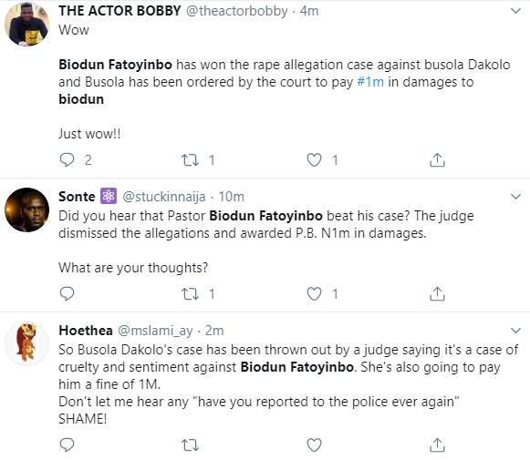 Outrage as court throws out Busola Dakolo