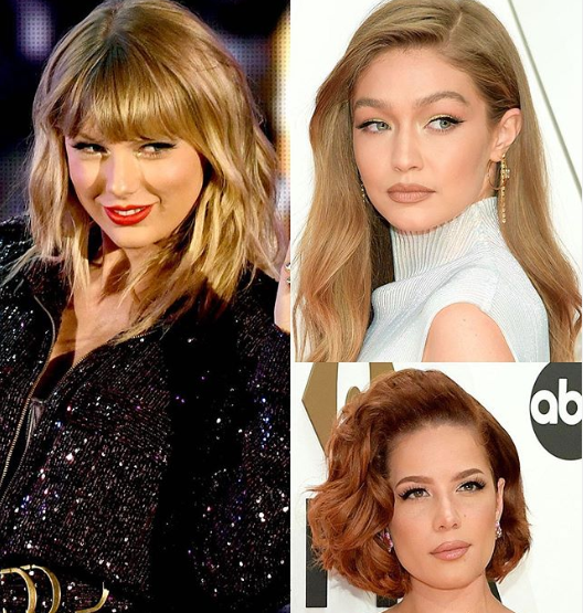 Halsey, Gigi Hadid and other celebrities support Taylor Swift amid her battle to get the rights to perform her own music at the AMAs