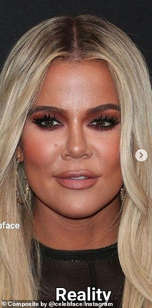Khloe Kardashian is blasted after being exposed for over-editing her photos