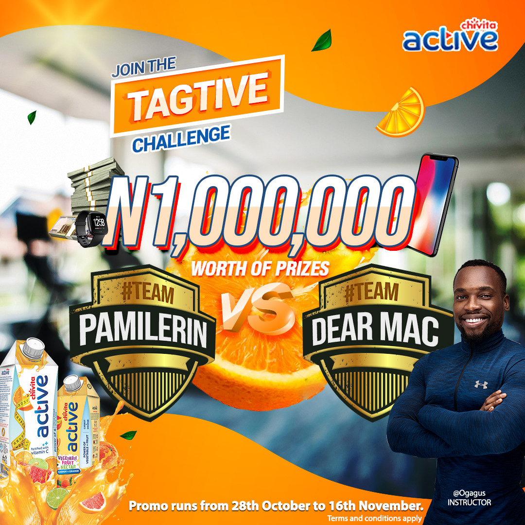 N1m worth of prizes up for grabs in the Chivita Tagtive Challenge