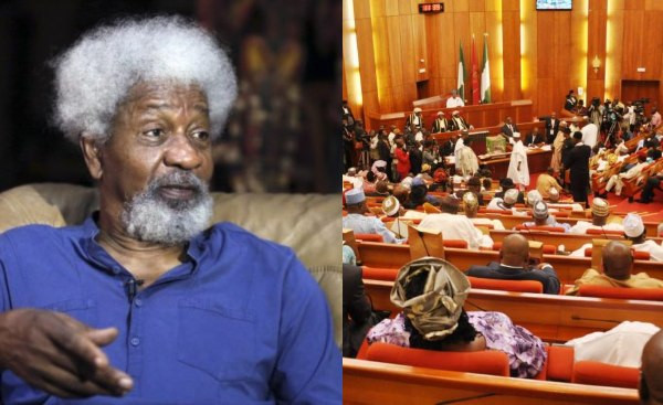 Is it now cool to kill? Your motives are dubious and aimed at silencing voices of criticism ? Soyinka writes Senate over ?hate speech? bill