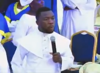 Any man that stays on a woman for over 30 minutes is a mad man- Nigerian pastor preaches about sex (video)