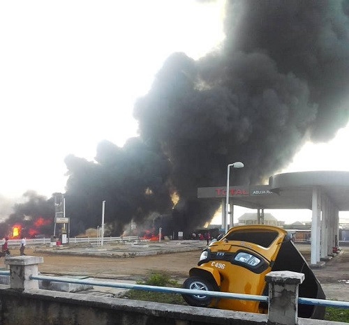 Many feared dead as petrol tanker goes up in flames in Lokoja (Photos)