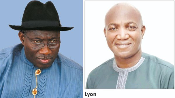 Jonathan pleased with Lyon?s victory in Bayelsa Governorship election - APC