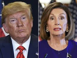 Nancy PelNancy Pelosi is crazy - Donald Trump slams House speaker Pelosi for an ''impeachment quote''osi is crazy - Donald Trump slams House speaker Pelosi for an ''impeachment quote''