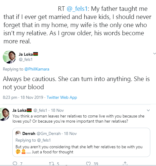 Kenyan man reveals what his father taught him about women and marriage