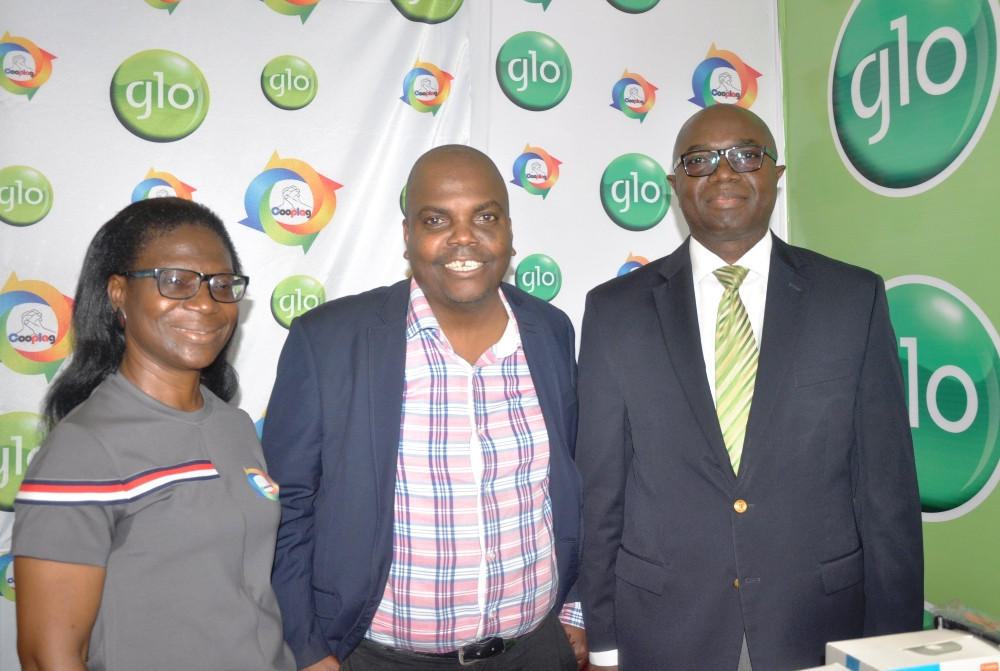 Glo showcases products at Lagos Shell Cooperative expo