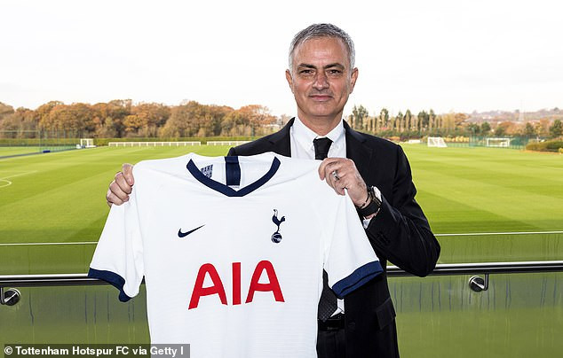 Jose Mourinho becomes the second highest-paid manager in the world after his new ?15m-a-year deal with Tottenham