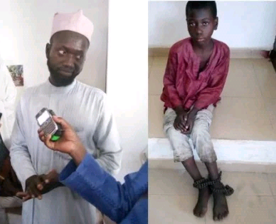 Father arrested in Niger state for chaining, locking up his 10-year-old son over refusal to attend school