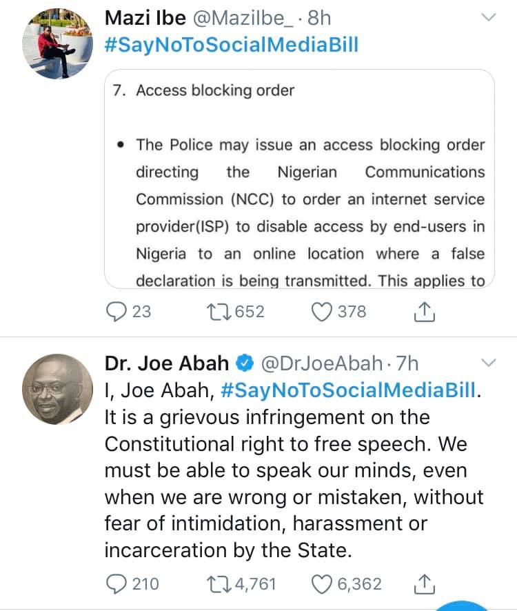 #Signthepetition trends on Twitter as Nigerians campaign against social media bill