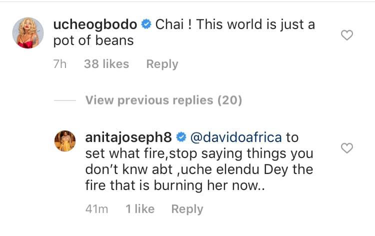 You are not a good person, are you a witch?  Anita Joseph asks as she calls out her best friend Uche Elendu