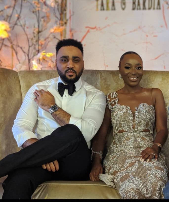 Photos from the white wedding of media personality, Illrymz