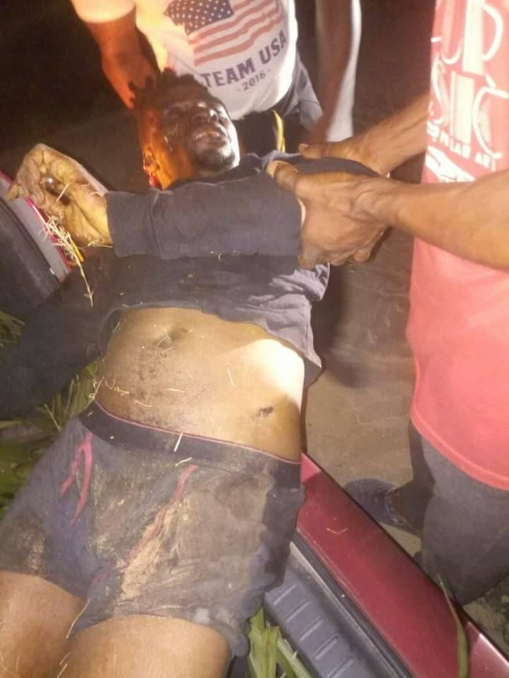 Taxify driver killed and his car stolen in Lagos (graphic photo)