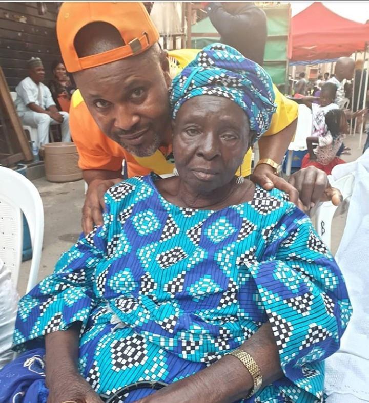 Saidi Balogun loses his mum