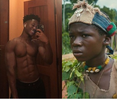 Remember Abraham Attah, the little boy in