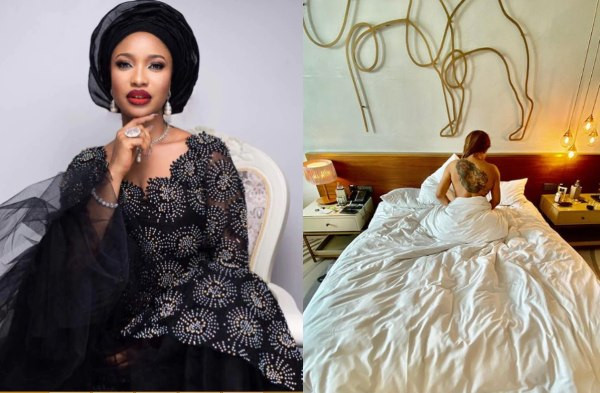 Anytime you have sex with a person you bond with them, you become who you sleep with - Tonto Dikeh