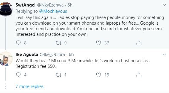 Another female entrepreneur forced to respond after being accused of collecting #75,000 from Nigerians for a WhatsApp course she didn
