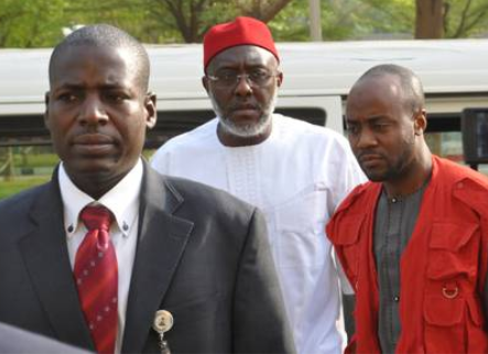 Justice Okon Abang of the Federal High Court sitting in Abuja has fixed February 25, 2020, for the judgment in the criminal suit filed against former National Publicity Secretary of the Peoples Democratic Party, Olisa Metu, and his company, Destra Investment Ltd.   Metuh was arraigned by the Federal Government in 2016 over allegations of unlawfully receiving N400m from the office of the then National Security Adviser, Col Sambo Dasuki (retd).     The money, the prosecution counsel said, was meant for the procurement of arms to curb insurgency in the North-East region but diverted to fund the media campaign of the PDP prior to the 2015 general election.  Justice Abang fixed the judgment date on Tuesday after defence and prosecution counsels had adopted their final arguments.
