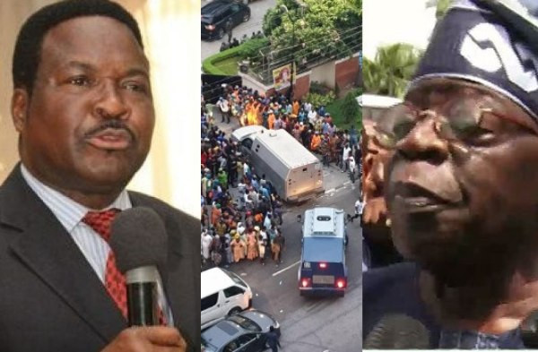 Ozekhome slams EFCC on refusal to investigate alleged Tinubu's bullion van