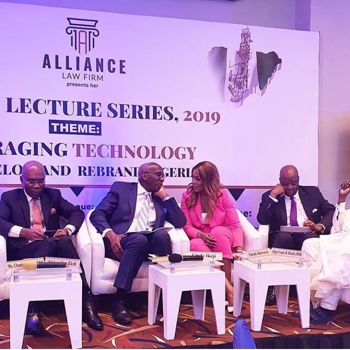 Linda Ikeji, Ecobank MD Patrick Akinwutan, Chairman of MTN, Ernest Ndukwe, Zinox chairman, Leo Stan Eke and more dignitaries speak at the Alliance Law Firm Annual Lecture (photos/video)
