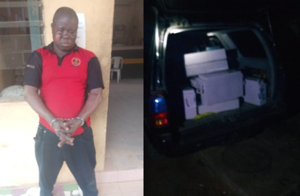 Anglican Knight arrested for armed robbery in Lagos