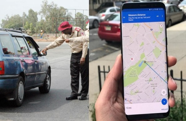Use of Google map on mobile device while driving is a serious traffic offence ? FRSC