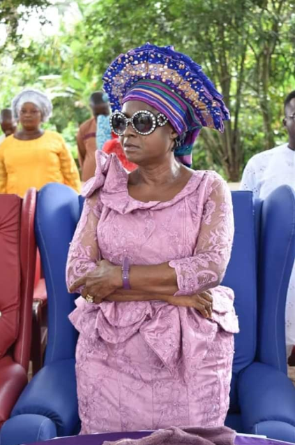 Actress/evangelist, Helen Ukpabio buries her father in pawpaw-shaped casket in Akwa Ibom state