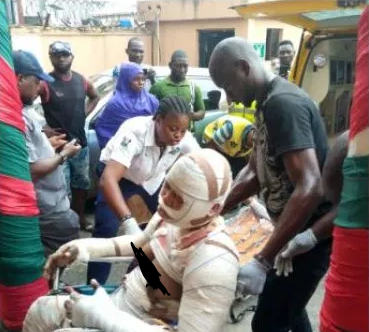 Two children killed, many others burnt in gas explosion in Lagos (photos/video)