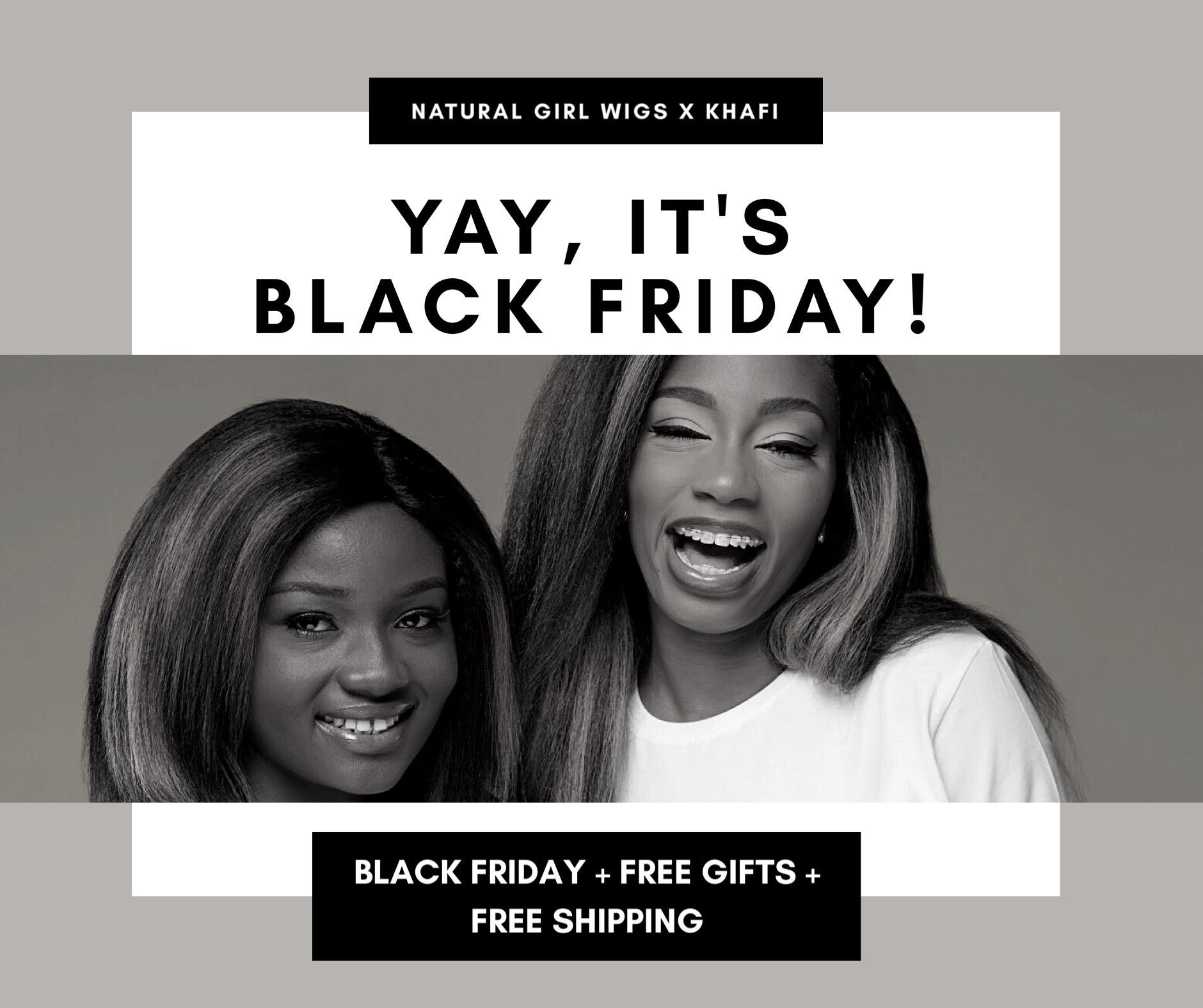 The Black Friday Deal for all Black women!!