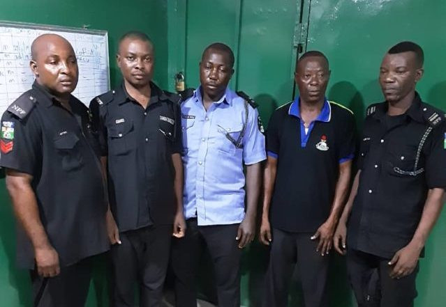 Five police officers arrested for killing Lagos resident