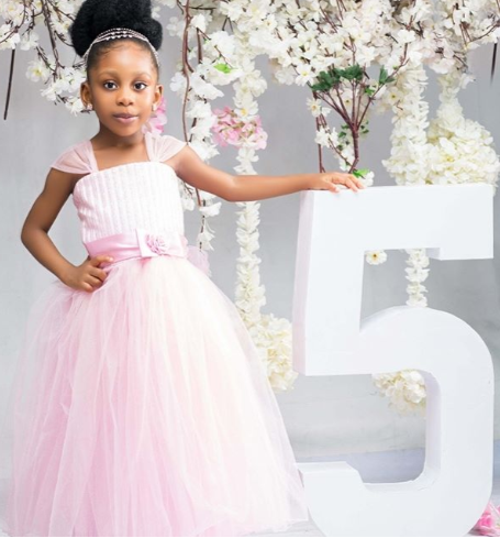 Nuella Njubigbo celebrates her daughter as she turns 5