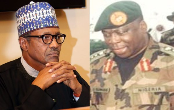 Buhari reacts to ex-Defence Chief