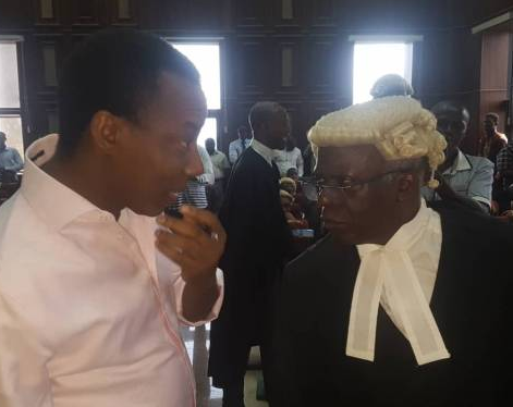 FG is planning to transfer Omoyele Sowore to prison - Femi Falana raises alarm