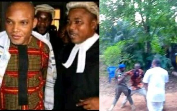 Two allegedly feared dead as Police invade Nnamdi Kanu?s lawyer?s home