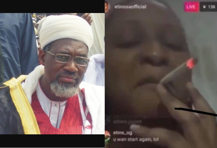 Here is what Chief Imam of Ansar-Ud-Deen has to say after Etinosa threatened to desecrate the Holy Quran