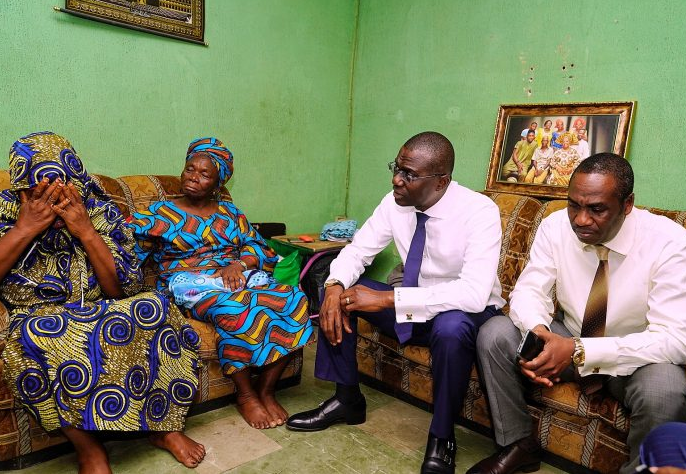 Governor Sanwo-Olu visits family of late LASTMA officer, vows to prosecute killers