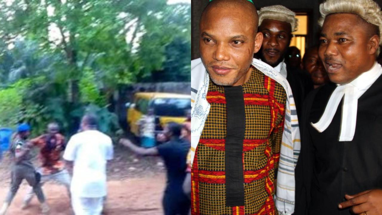 Police confirm invading Nnamdi Kanu