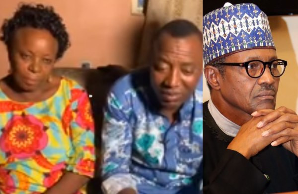 Please release my son, he can't run away because he has committed no crime – Sowore's mother appeals to Buhari and DSS (Video)