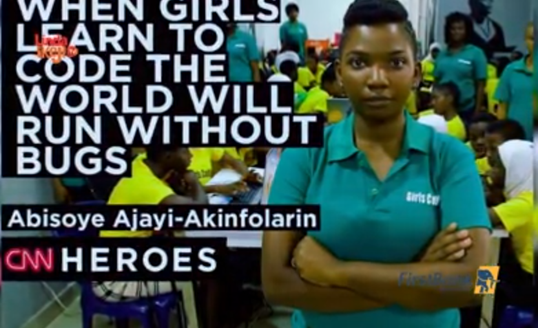 First Class Material episode 2 - Meet Abisoye Ajayi-Akinfolarin, the female techpreneur empowering girls by teaching them to code (video)