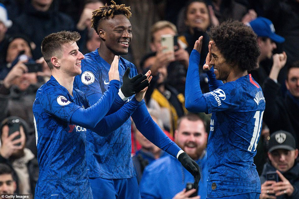 Man U. 2-1 Tottenham, Chelsea 2-1 Aston Villa: (Jose Mourinho loses on his first visit to Old Trafford since sack while John Terry and Frank Lampard unite