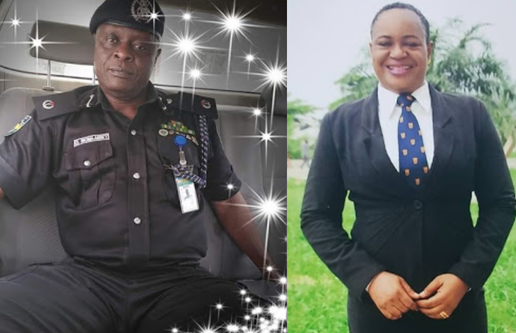 """""""Adieu my dear friend and soulmate""""-  Wife of the late ACP Abbey killed by IPOB members, mourns death of her husband"""
