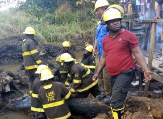 Update: Two confirmed dead in Lagos pipeline explosion