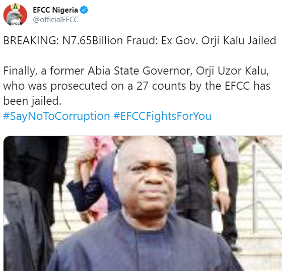 Update: Judge orders Orji Uzor Kalu