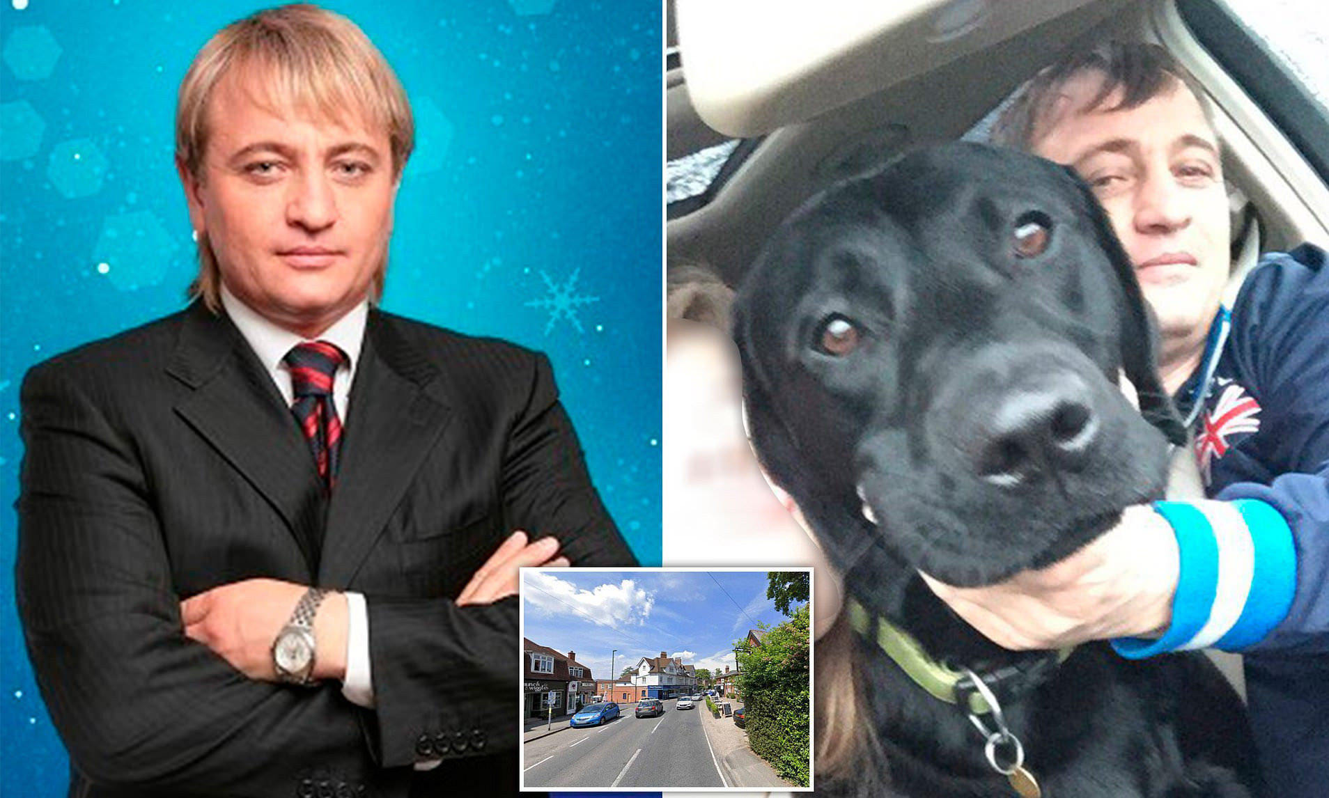 Russian billionaire tycoon Dmitry Obretetsky mysteriously killed in crash involving three cars while walking his dog in Surrey