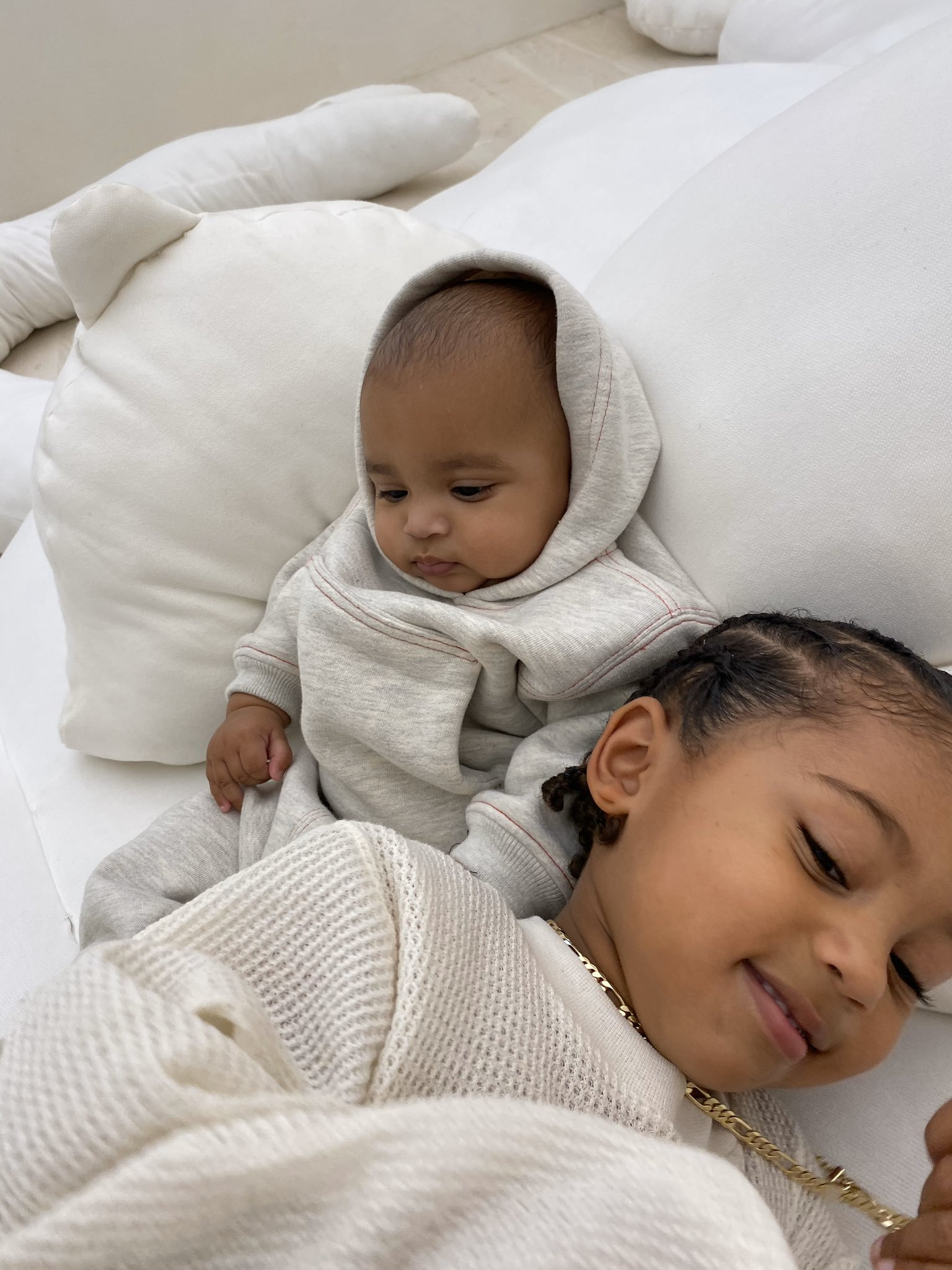 Kim Kardashian Shares Adorable New Photos Of Her Sons