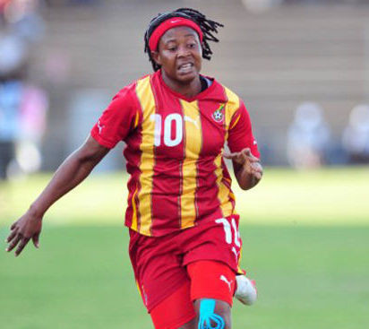 Former Ghanaian national female team captain, Adjoa Bayor says she first had sex at 32 (video)
