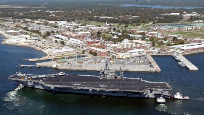 Pensacola Shooting: Saudi student opens fire at US naval base