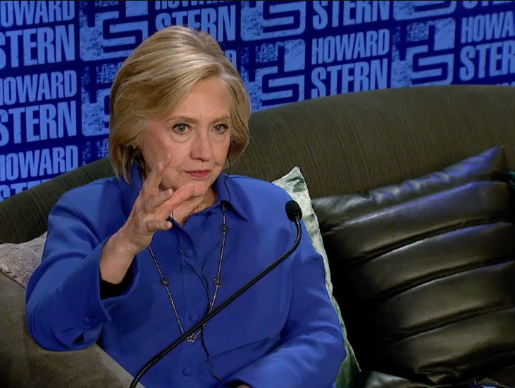 """'Never never never!"""" Hilary Clinton says when asked if she's ever had a 'lesbian affair'"""