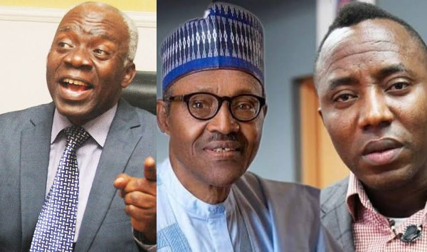 We have fought military dictators and defeated all of them - Femi Falana blows hot on Sowore