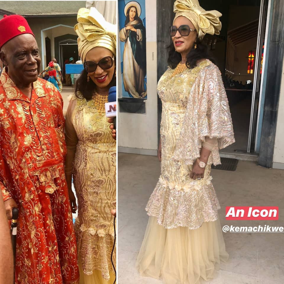 Former Aviation Minister, Kema Chikwe and hubby, celebrate 50th wedding anniversary (photos)